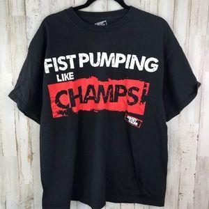 *3/$21 Fist Pump Jersey Shore Tee Size XL